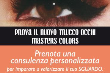 Ottobre, il mese del make-up: promozione Masters Colors